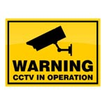 Image of CCTV Warning Sign