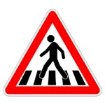 Image of Pedestrians Ahead Sign